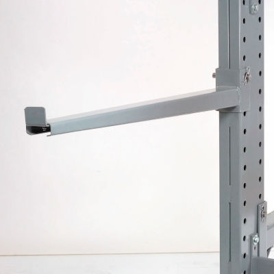 """Global Industrial™ 36"""" Cantilever Straight Arm, 2"""" Lip, 3400 Lb. Cap., For 3000-5000 Series"""
