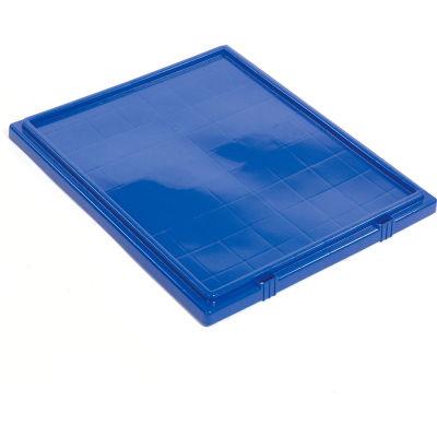 Akro-Mils Lid 35301 For Nest & Stack Tote 35300, Blue - Pkg Qty 3