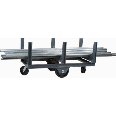 "Durham Mfg® Bar Cradle Truck BCTE-2860-4K-95 60""L 4000 Lb. Capacity"