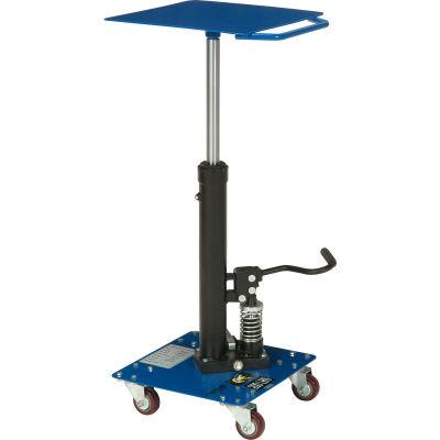 Global Industrial™ Work Positioning Post Lift Table Foot Control 200 Lb. Cap. 16x16 Platform