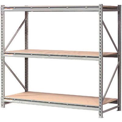 "Global Industrial™ Extra Heavy Duty Storage Rack, Wood Deck, 72""Wx48""Dx96""H Starter"