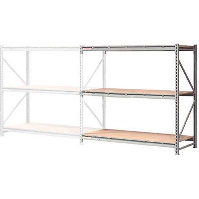 "Global Industrial™ Extra Heavy Duty Storage Rack, Wood Deck, 60""Wx48""Dx120""H Add-On"