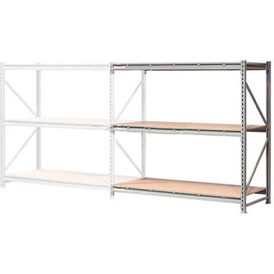 "Global Industrial™ Extra Heavy Duty Storage Rack, Wood Deck, 96""Wx48""Dx96""H Add-On"