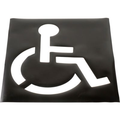 Global Industrial™ Handicapped Parking Lot Stencil