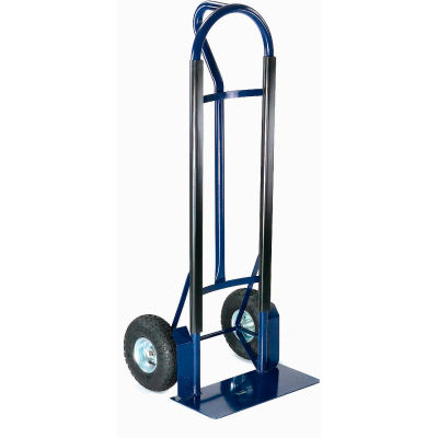 Global Industrial™ Extra Strength Steel Hand Truck with Loop Handle 600 Lb. Capacity