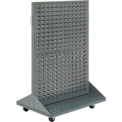 """Global Industrial™ Mobile Double-Sided Rack without Bins 36"""" x 54"""""""