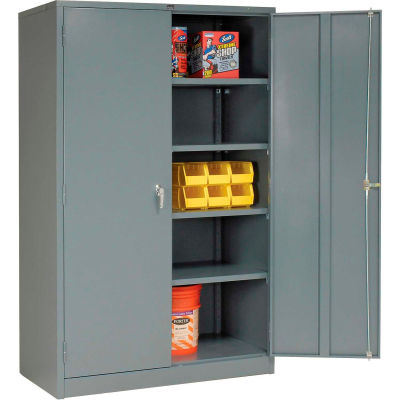 Global Industrial™ Storage Cabinet Easy Assembly 48x24x78 Gris