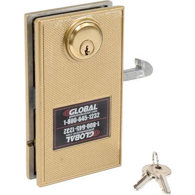 Global Industrial™ Mortise Door Lock With 2 Keys for Sliding Doors