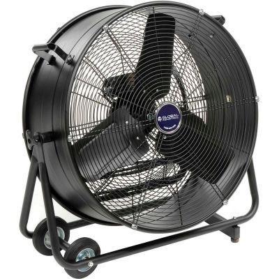 "Global Industrial™ 24"" Direct Drive Portable Tilt Drum Blower Fan, 7700 CFM, 1/3 HP"