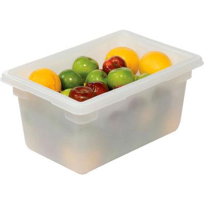 Rubbermaid 3504-00 5 de boîte en plastique blanc Gallon 18 x 12 x 9, qté par paquet : 6