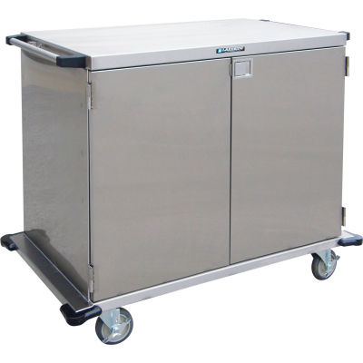 """Lakeside® 6947 Double Door Stainless Steel Case Cart, 43""""L x 29""""W x 54""""H"""