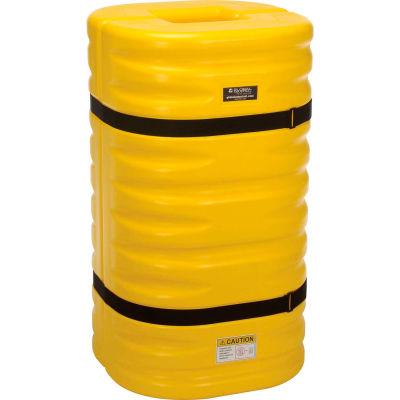 "Global Industrial™ Yellow Column Protectors, 8"" Column Opening"