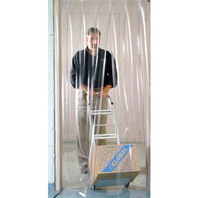 Global Industrial™ Pedestrian Strip Door Curtain 3'W x 7'H