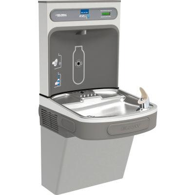 Station de remplissage d'eau Elkay EZS8WSLK, non filtrée, niveau unique, gris pâle