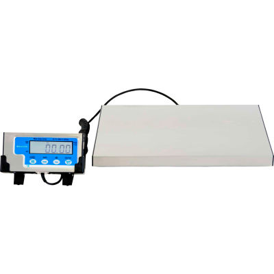 "Brecknell LPS150 Bench Digital Scale 150lb x 0.05lb, 12"" x 15"" Platform"