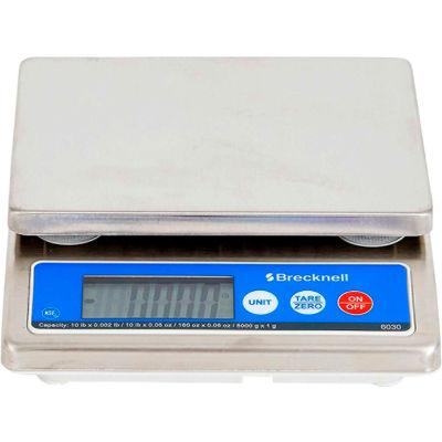 Brecknell 6030 IP67 eau preuve partie contrôle échelle 10 lb capacité x 2 lb lisibilité