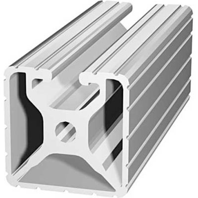 """80/20 1501-145 1-1/2"""" X 1-1/2"""" T-Slotted Profile, 145"""" Stock Bar"""