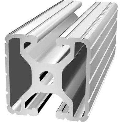 """80/20 1504-145 1-1/2"""" X 1-1/2"""" T-Slotted Profile, 145"""" Stock Bar"""