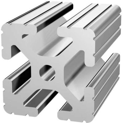 "80/20 1515-48 1-1/2"" X 1-1/2"" T-Slotted Profile, 48"" Stock Bar"