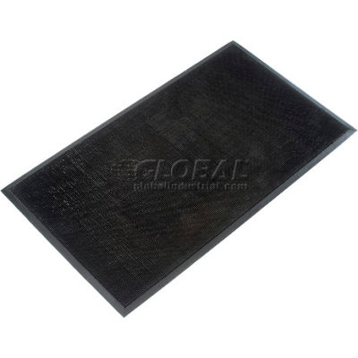 "Apache Mills Trooper™ Entrance Mat 5/8"" Thick 3' x 5' Black"