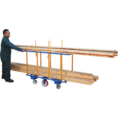 Horizontal Lumber Cart PANEL-H 2000 Lb. Capacity