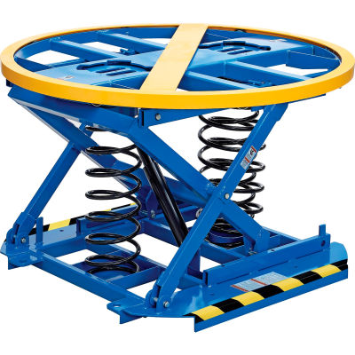 Global Industrial™ Spring-Actuated Pallet Carousel Skid Positioner