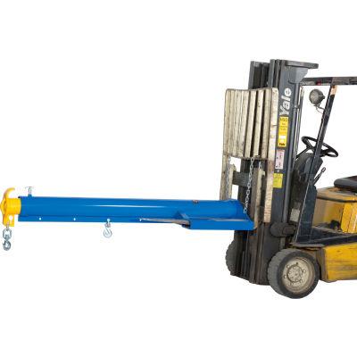 "Global Industrial™ Forklift Telescoping Jib Boom Crane, 86-1/4""L-153-3/4""L, 4000 Lb. Capacity"