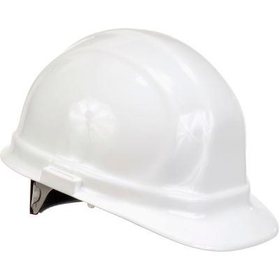 ERB™ 19951 Omega II Hard Hat, 6-Point Ratchet Suspension, White
