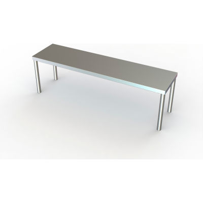 "Aero Manufacturing Riser Shelf W/ 430 Stainless Steel, 48""W x 12""D"