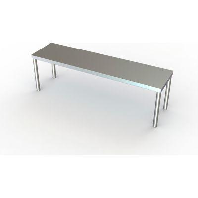 "Aero Manufacturing Riser Shelf W/ 430 Stainless Steel, 96""W x 12""D"