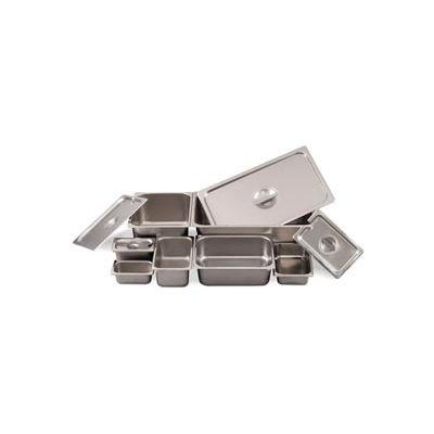 Alegacy 2162 - 1.375 Qt. 1/6 Size Steam Table Pan, 22 Ga. - Pkg Qty 12