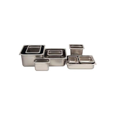 Alegacy 77236 - 14.5 Qt. 2/3 Size Steam Table Pan Anti-Jam, 23 Ga. - Pkg Qty 6