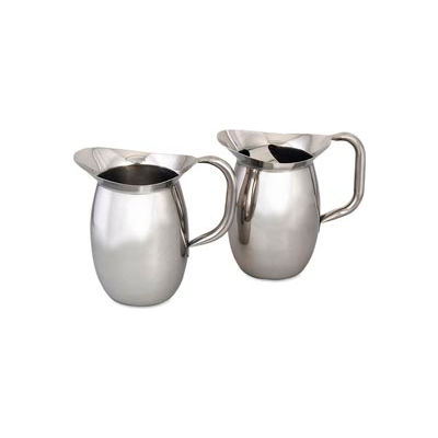 Alegacy 8202G - Bell Shape Pitcher With Ice Guard 2-1/8 Qt.