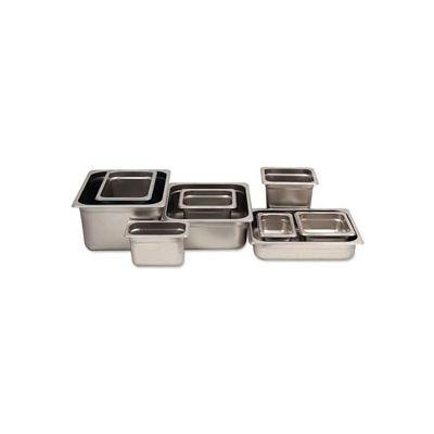 Alegacy 88126 - 11 Qt. 1/2 Size Steam Table Pan Anti-Jam, 24 Ga. - Pkg Qty 6