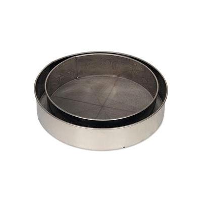 """Alegacy S9908 - 8"""" Dia. Stainless Steel Rim Sieves"""