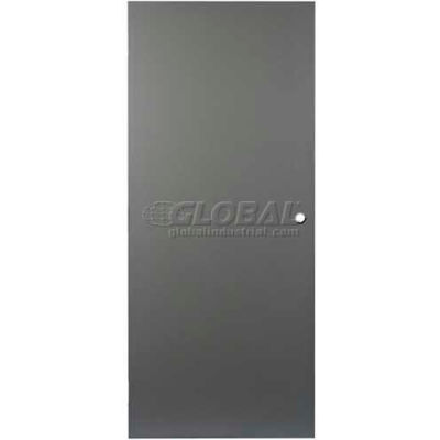 """CECO Hollow Steel Security Door 36""""W X 80""""H, 24""""W X 12""""H Louver, Cylindrical Prep, SteelCraft Hinge"""