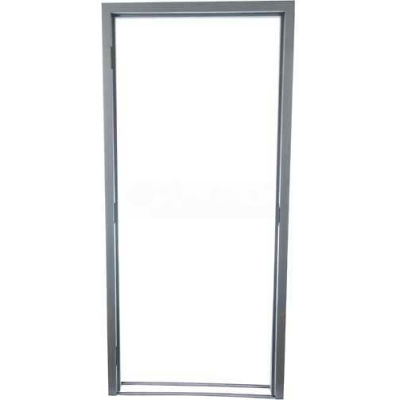 """CECO Door Frame With Masonry Stud, SteelCraft Hinge Location, Left Hand 48""""W X 80""""H"""
