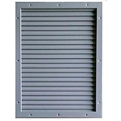 "CECO Door Louver Kit, Galvannealed Steel, 16""W X 16""H"