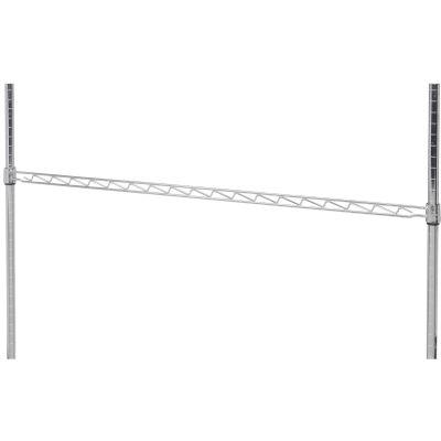"""Nexel® AHR48C Chrome Hanging Rail 48"""""""