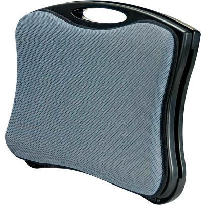 Aidata LD007P LapBoard Multi-Function Laptop Cooling Station, Black