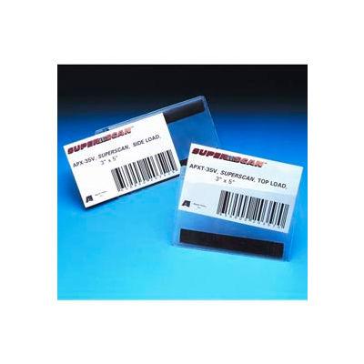 "Label Holders, 4"" x 6"", Clear, Magnetic - Top Load (50 pcs/pkg)"