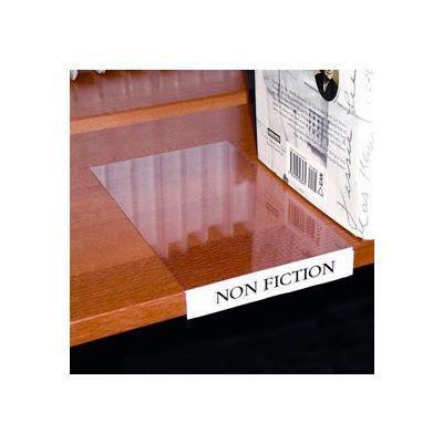 Label Holder, Moveable Shelf, Clear (10 pcs/pkg)
