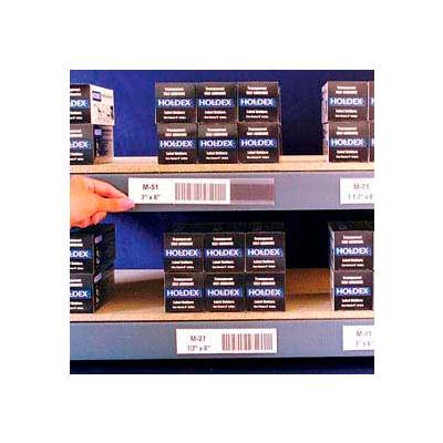 "Label Holders, 2-1/2"" x 6"", Clear, Magnetic (12 pcs/pkg)"