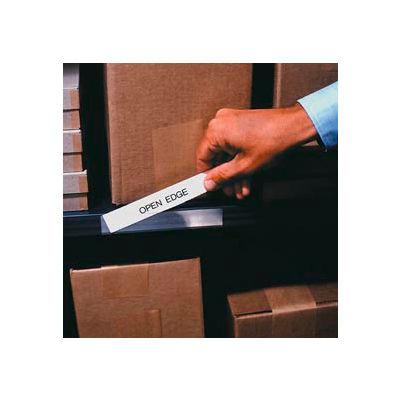 """Label Holder, Economy Strip, 3""""H x 5""""L, Clear (50 pcs/pkg)"""