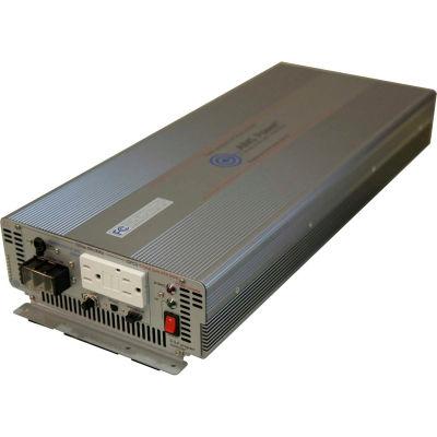 OBJECTIFS de puissance 3000 watts pur sinus 24VDC onduleur avec disjoncteur différentiel, PWRIG300024120S