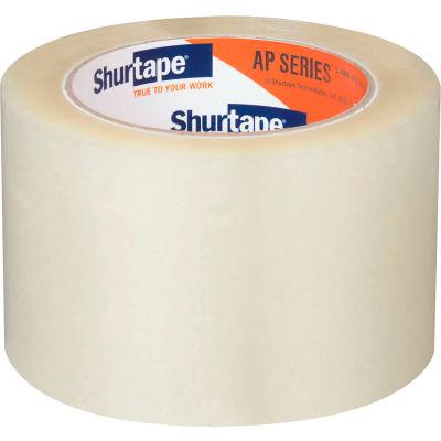 "Shurtape® AP 401 Carton Sealing Tape 3"" x 110 Yds 2.5 Mil Clear - Pkg Qty 24"