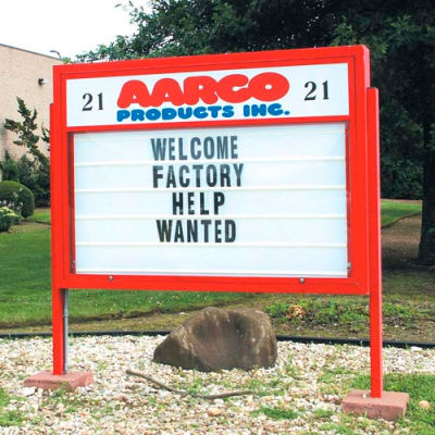 """Aarco Marquee 5""""H Changeable Letters"""