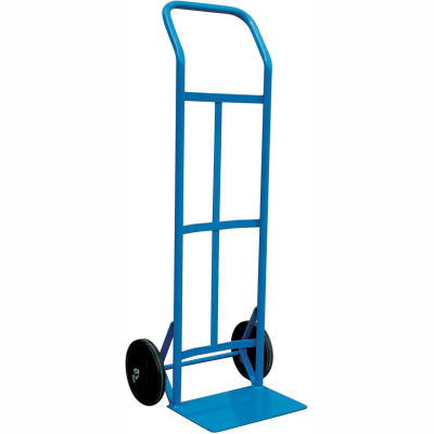 """Steel Hand Truck - 19""""W x 47""""H - 600 Lb. Capacity - Blue - w/ Cotter Pin"""