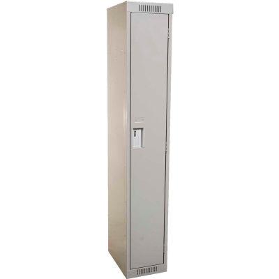 Clean-Line Assembled 1-Tier Lockers - 1 Locker Wide