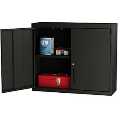 "ALB Plus Welded Wall-Hung Cabinet - 36""Wx12""Dx30""H - Black"